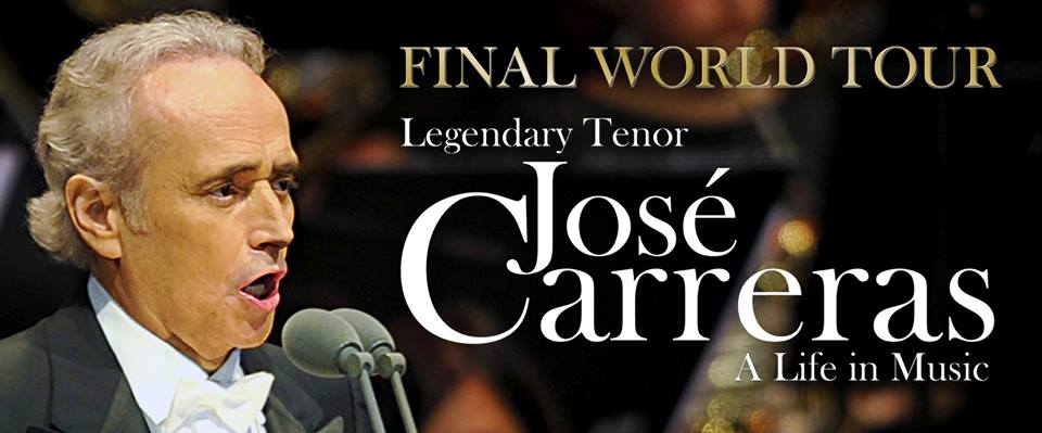 José Carreras - German tour