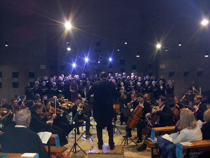 Sborový a orchestrální koncert