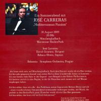Ein Sommerabend mit JOSÉ CARRERAS,